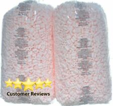 Packing Peanuts Fill 52 Gallons 7 Cu Ft 2 X 35 Pink Shipping Anti Static Loose
