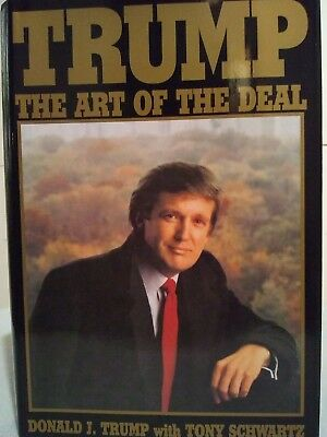 """AUTOGRAPHED /""""Art of the Deal/"""" Book SIGNED by PRESIDENT DONALD TRUMP w//Proof"""
