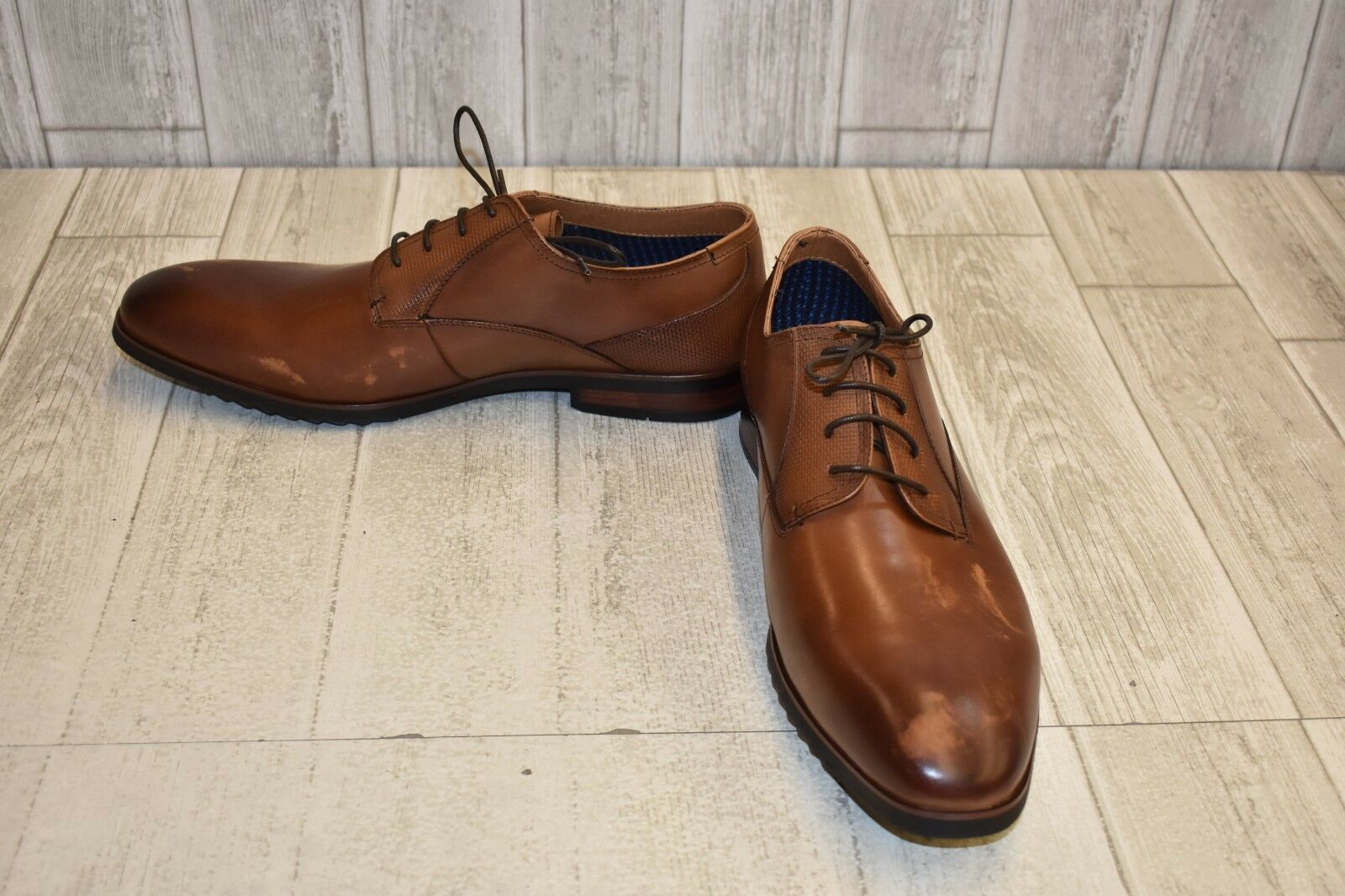 Steve Madden Lawton Oxford- Men's Size 14, Cognac