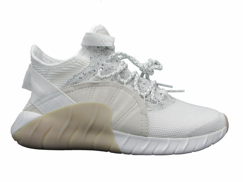 ADIDAS TUBULAR RISE SNEAKERS BEIGE WHITE BY3555