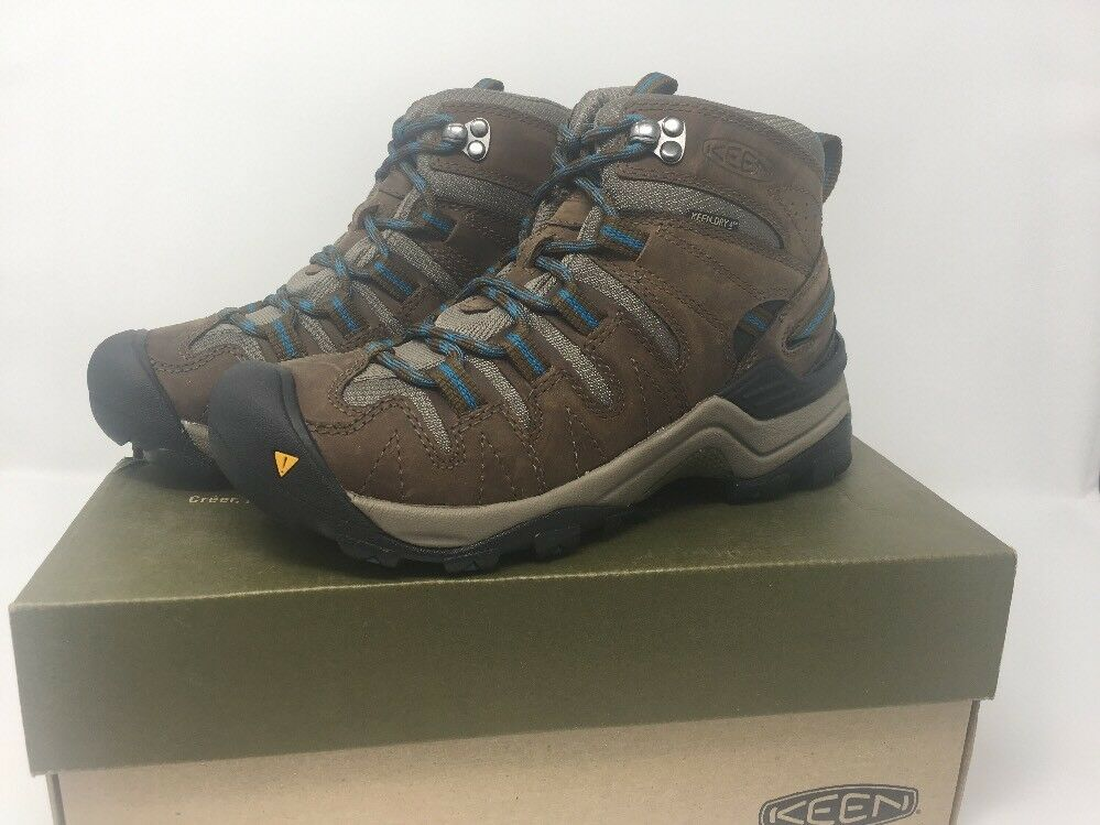 KEEN GYPSUM MID 1003903 WOMENS SIZE 5 Dark Earth Celestial