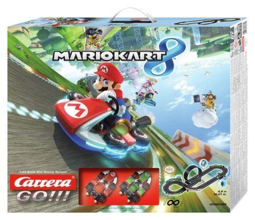 Carrera GO    Mario Kart 8 Slot Race Set 6+ Years
