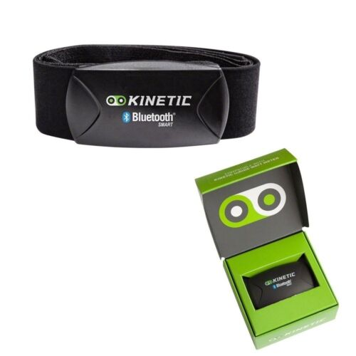Kinetic Heart Rate Strap and Sensor with Bluetooth Smart Black