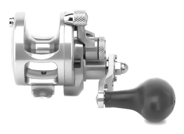 Avet SXJ 5 3 MC Cast Single Speed Lever Drag Reel Sxj5 3mc Silver