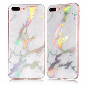 Marble-Pattern-Ultra-Slim-Rubber-Soft-TPU-Case-Cover-for-iPhone-X-6-7-8-Plus