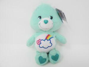 NWT-CareBears-Special-Edition-Aqua-Plush-Bashful-Heart-Bear-Ships-in-12-hrs