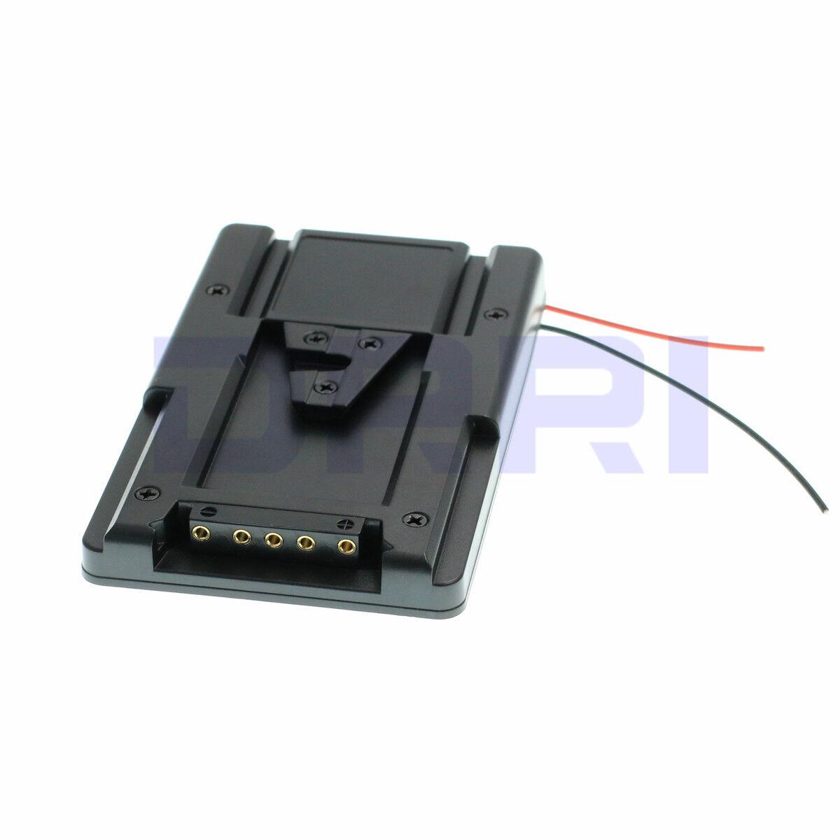 V-Lock V-mount Battery Adapter Plate Converter fr Sony HDV DSLR Rig Supply S-GP