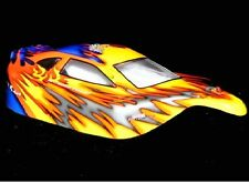 Redcat Racing Tornado S30  EPX  Pro Lexan 1:10 Orange & Blue Buggy Body 10706