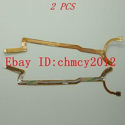 2pcs Lens Aperture Flex Cable For CANON EF-S 18-55mm f/3.5-5.6 I/II USM Repair