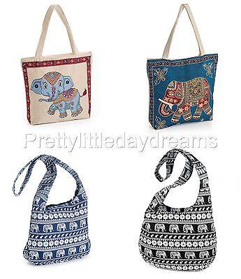 Schulter Schultertasche/Portemonnaie Elefant Hippie/Boho/Gypsy Strand/Fest