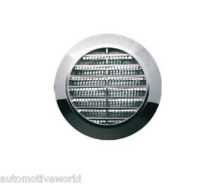 Cromato-Mini-Circolare-Ventilazione-Griglia-Di-60mm-0-24-034-Mobili-Coperchio-T74MS