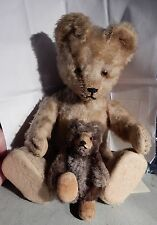 Antiker Steiff Teddy Baby 8cm und SCHUCO Yes-No 20cmTeddy Bär
