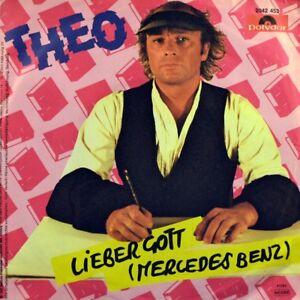 7-034-THEO-Lieber-Gott-CV-JANIS-JOPLIN-Mercedes-Benz-POLYDOR-New-Wave-NDW-orig-1982