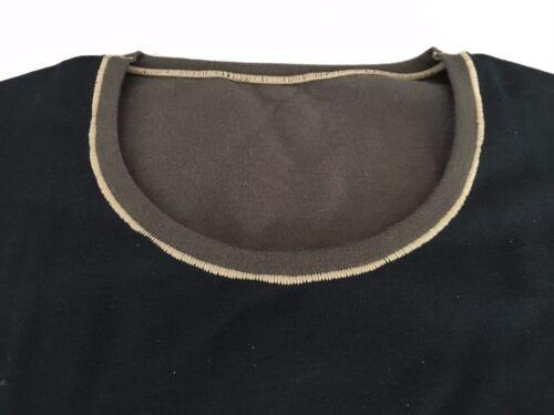 FILA maglia uomo manica lunga REVERSIBILE nero//militare mod 5.602