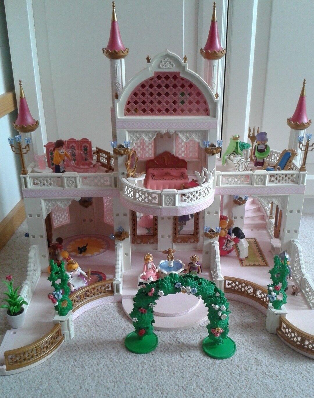 Playmobil 4250 Märchenschloss mit 4254 Babyzi 4253 Schlafzi 4256 Königsthron