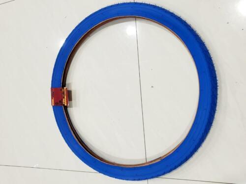 ONE HIGH QUALITY BLUE TIRE NEW BMX STREET TIRE DESIGN 20x2.125 57-406