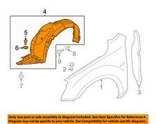 KIA OEM 14-16 Soul Fender-Liner Inner Panel Cover Left 84141B2000