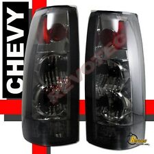 1988-1998 Chevy GMC C/K C10 1500 2500 3500 Z71 Truck Sierra Smoke Tail Lights