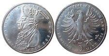 J440 5 DM Gedenkmünze Friedrich der Große 1986