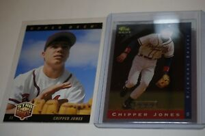 2 1993 Classic Best Young Guns Yg7 Chipper Jones Braves