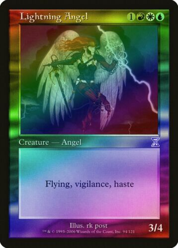Timeshifted HEAVILY PLD Special CARD ABUGames Lightning Angel FOIL Time Spiral