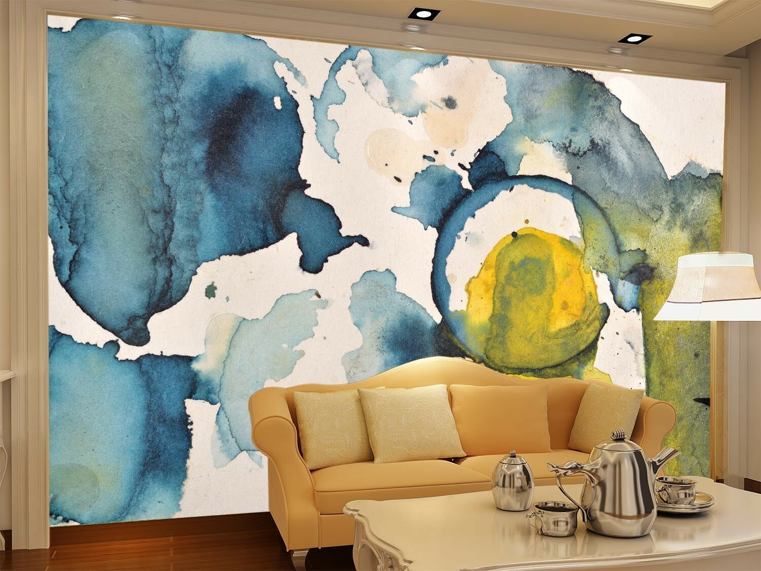3D Abstract Painting 5 Wall Paper Wall Print Decal Wall Deco Indoor Wall Murals