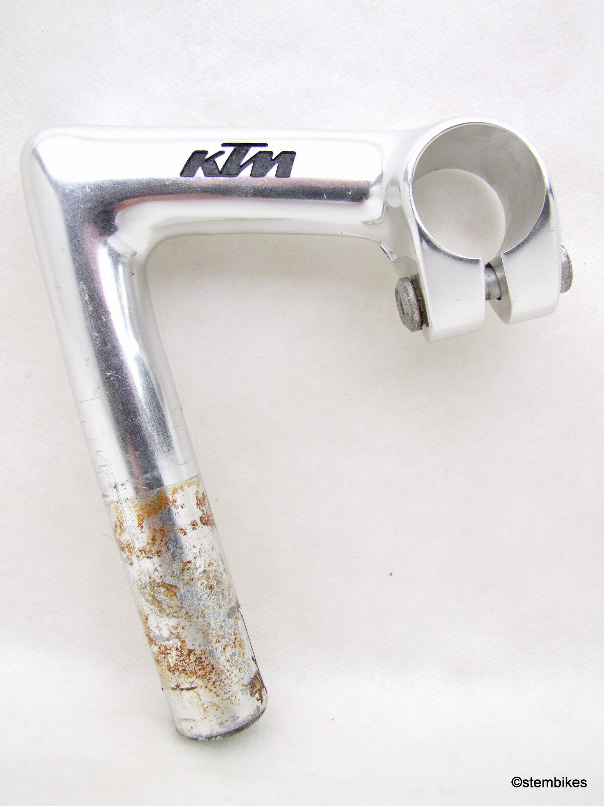 70s 3ttt RECORD  'KTM' stem 90mm   ⌀26.0mm   barely used   EXCELLENT  cost-effective