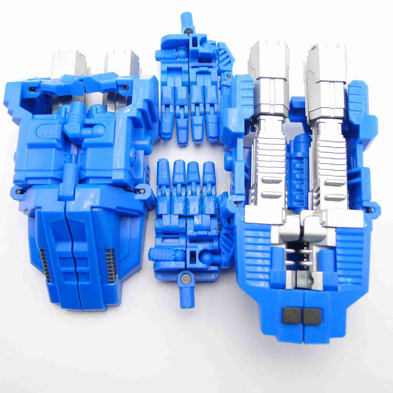 Simple Version PERFECT COMBINER UPGRADE SET Revised Ver For  CW BRUTICUS bluee