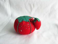 "3.5/"" Tomato Pin Cushion /& Strawberry Emery Prym-Dritz Clean /& Sharpen Needles"