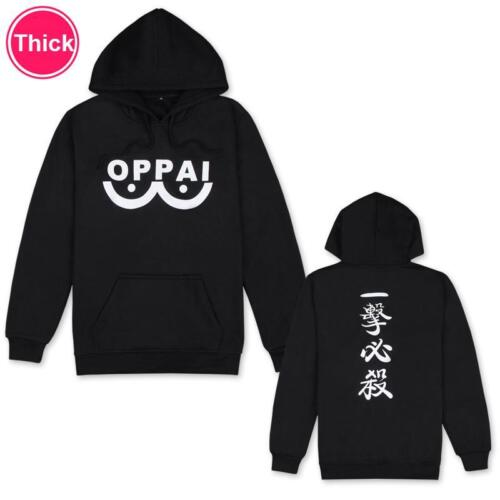 One Punch Man Saitama,Men/'s Hoodie Pullover Sweater Cotton Thick Cosplay Costume