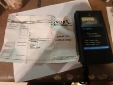 5e Tramex Moisture Encounter With Inst And Case Working Battery Comp Taped