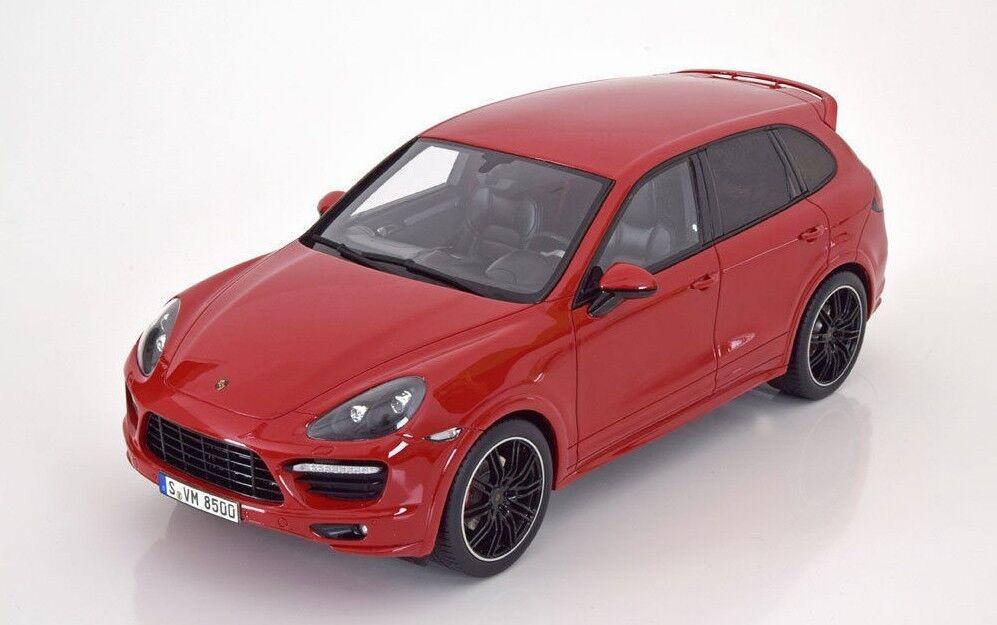 vendita scontata online di factory outlet GT Spirit 2013 Porsche Cayenne GTS GTS GTS automine rosso 1 18 GT020Bnuovo Item   negozio fa acquisti e vendite