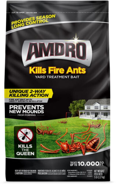 Amdro Yard Treatment Kills Fire Ants Fire Ant Bait Granules 5lb For Sale Online Ebay