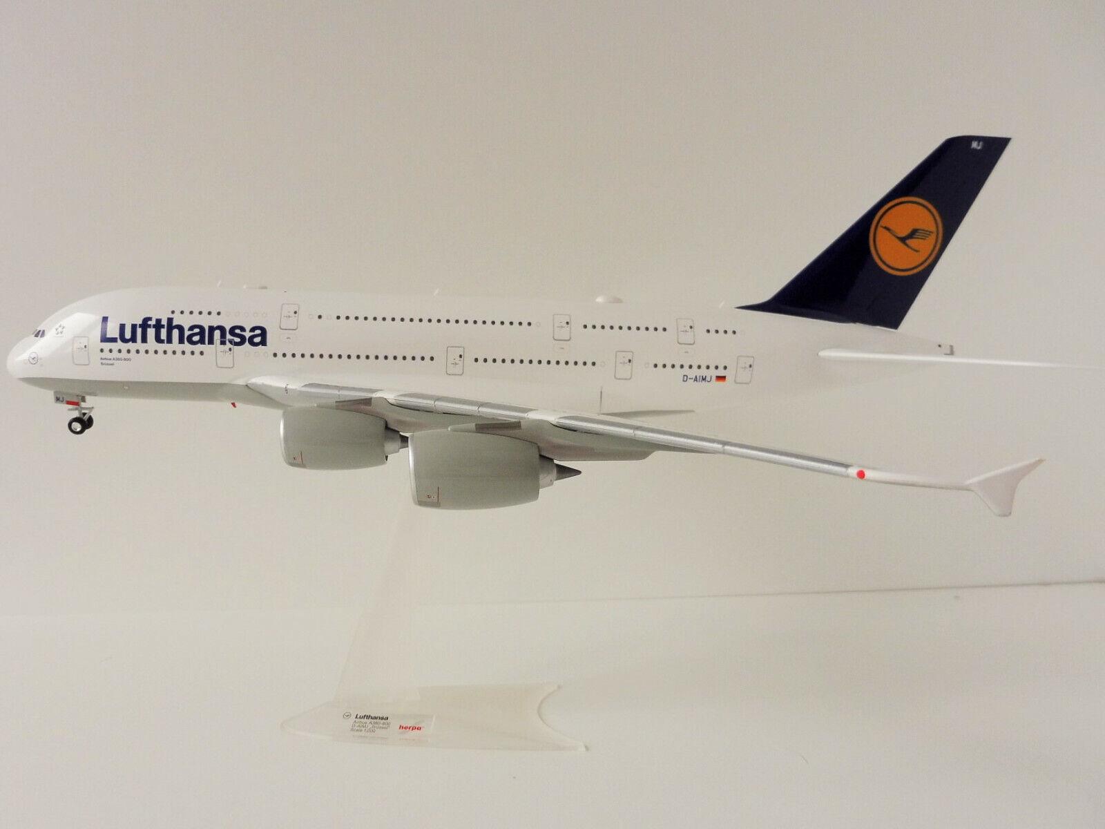 precios razonables Airbus A380-800 Lufthansa Lufthansa Lufthansa 1 200 Herpa 550727-001 A380 a 380 D-Aimj  promociones de descuento