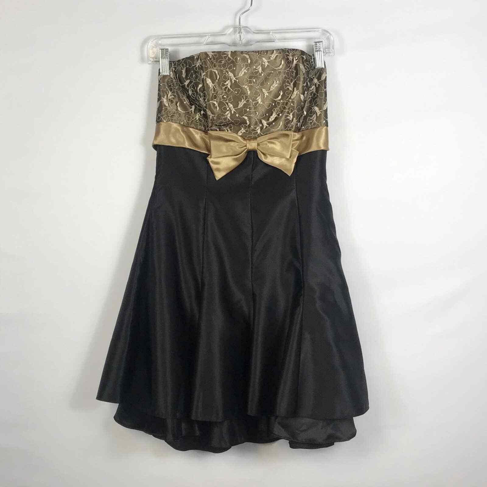 Jessica McClintock Gunne Sax Formal Prom Dress Si… - image 4
