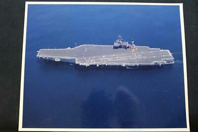 p1295 Precise Military Ship Photo Uss Kitty Hawk 8' X 10' Color Photo Can Be Repeatedly Remolded. cv-63