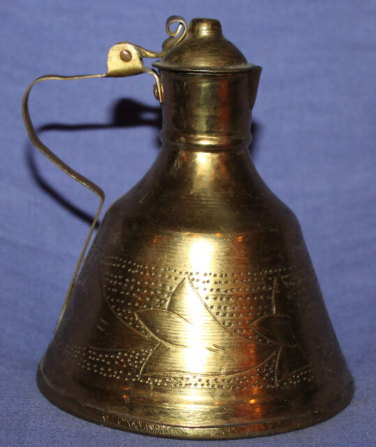 Vintage Albanian hand made brass pitcher