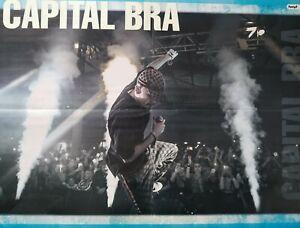 CAPITAL-BRA-A2-Poster-XL-42-x-55-cm-Rapper-Clippings-Fan-Sammlung-NEU