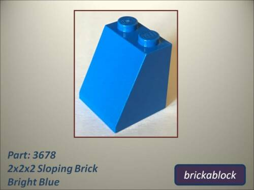 *ALL COLS SAME PRICE* NEW Lego Part 3678 2x2x2 Sloped Brick 2,5,10,15,20 or 30