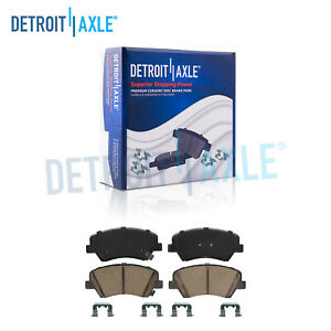 For Hyundai Veloster Kia Forte Front+Rear Brake Rotors /& Ceramic Pads