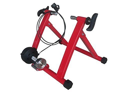 rosso Magnet Steel Bike Bicycle Indoor Exercise Trainer Stand