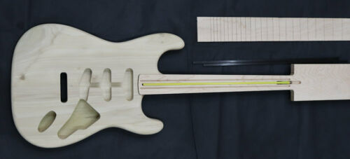 UK Made ST-6 Std model with Std Routs /& neck kit E-Series 6 string Guitar Kit