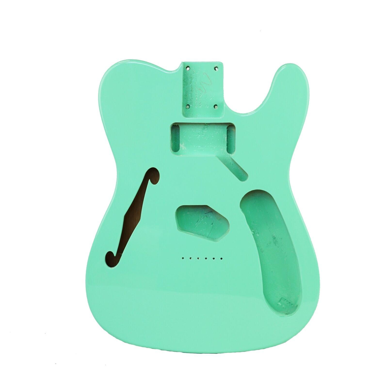Eden® Crafter Series DIY Alder Thinline Tele Guitar Body HS Seafoam Grün