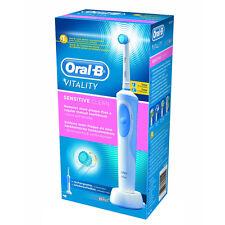 Braun Oral-B Vitalità Pulito Spazzolino Elettrico per Denti sensibili