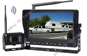 9 Digital Wireless Rear View Backup Camera System For Rv 5th Wheel