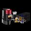 thumbnail 2 - Nespresso-Vertuo-Next-Cherry-Red-Coffee-Machine-amp-Aeroccino3-50-Vertuo-Capsules
