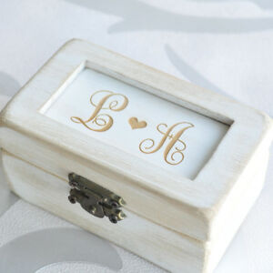 Custom-Wedding-Ring-Bearer-Box-Wedding-Gift-Vintage-Ring-Box-Rustic-Ring-Holder