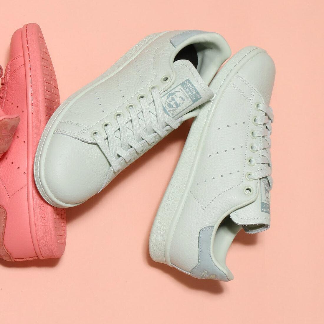 Adidas Stan Smith Leather ® ( Men Sizes UK  7 8 9.5 ) Tumbled leather upper