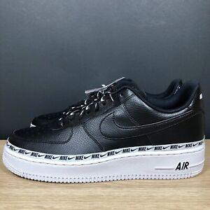 Details about Nike Air Force 1 '07 SE PRM Ribbon Black White AH6827-002 Women's Size 11