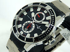 NEW Ulysse Nardin Maxi Marine Diver Chronometer 263.90.3/72 TITANIUM $9,500 NIB